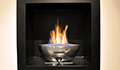 caminetto a gas in Alluminio Con Incasso - Firebowl Small